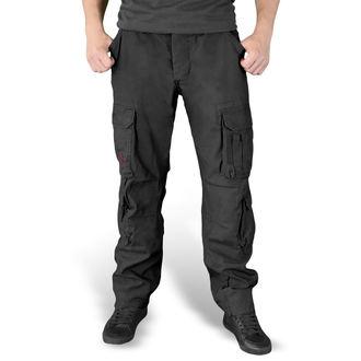 kalhoty pánské SURPLUS - AIRBORNE - SLIMMY SCHWARZ, SURPLUS