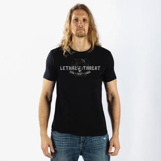 tričko pánské LETHAL THREAT - Biker From Hell - Black - LT20156
