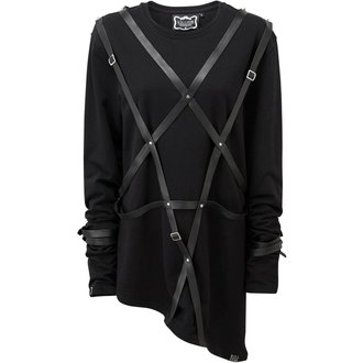 tričko s dlouhým rukávem (unisex) KILLSTAR - LUCAS - BLACK, KILLSTAR