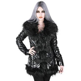 kabát dámský KILLSTAR - Lucine Puff - BLACK