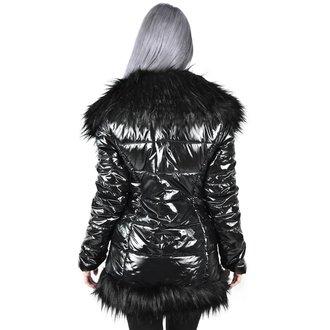 kabát dámský KILLSTAR - Lucine Puff - BLACK, KILLSTAR