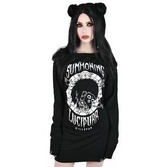 šaty dámské KILLSTAR - Lucipurr Sweater - BLACK - KSRA001587