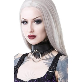 obojek KILLSTAR - LUCY LACE CHOKER - BLACK, KILLSTAR