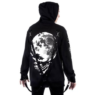mikina (unisex) KILLSTAR - Luna Morte Phases - Black, KILLSTAR
