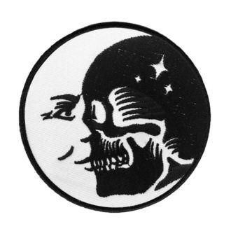 nažehlovačka (nášivka) KILLSTAR - Luna Morte - Black, KILLSTAR