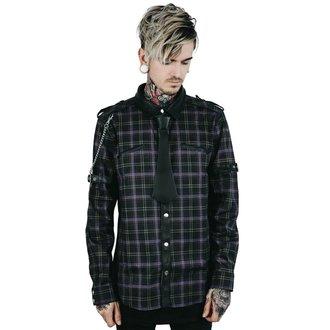 košile pánská KILLSTAR - Lux - TARTAN - KSRA000388