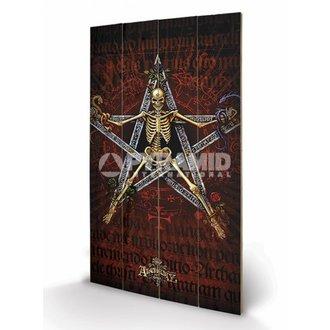 dřevěný obraz Alchemy (Alchantagram) - Pyramid Posters - LW10590P