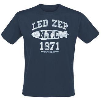 tričko pánské Led Zeppelin - NYC 1971 - Navy