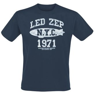 tričko pánské Led Zeppelin - NYC 1971 - Navy, NNM, Led Zeppelin