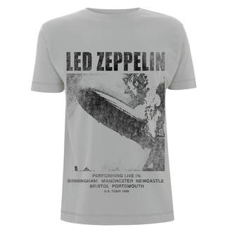 tričko pánské - Led Zeppelin - UK Tour 1969 LZ1 Ice - Grey, NNM, Led Zeppelin