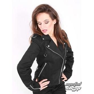 kabátek dámský Mode Wichtig - Biker Jacket Denim, MODE WICHTIG
