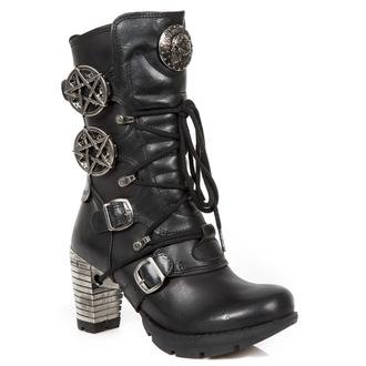 boty dámské NEW ROCK - ITALI NEGRO, NOMADA NEGRO, NEW ROCK