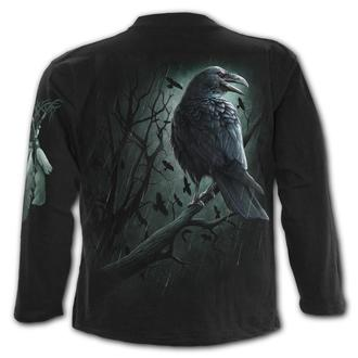 tričko pánské s dlouhým rukávem SPIRAL - SHADOW RAVEN, SPIRAL