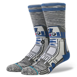 ponožky STAR WARS - R2 UNIT - GREY - STANCE, STANCE, Star Wars