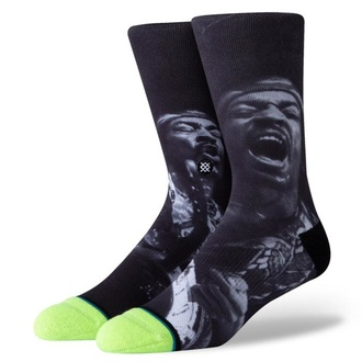 ponožky JIMI HENDRIX - JAM - MULTI - STANCE, STANCE, Jimi Hendrix