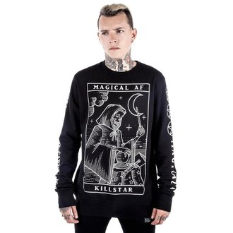 mikina (unisex) KILLSTAR - Magical AF - Black, KILLSTAR