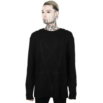 svetr (unisex) KILLSTAR - MAGUS KNIT - BLACK, KILLSTAR
