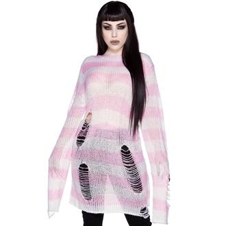 svetr dámský KILLSTAR - Marshmallow - PINK - KSRA003784
