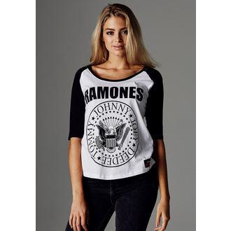 tričko dámské 3/4 rukávem Ramones - URBAN CLASSICS, URBAN CLASSICS, Ramones