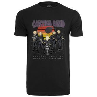 tričko pánské Star Wars - Cantina Band - black - MC412