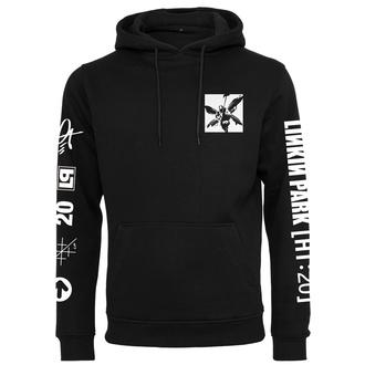 mikina unisex Linkin Park - Anniversary Logo - black - MC612