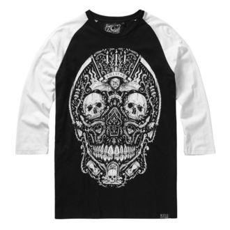 tričko pánské s 3/4 rukávem KILLSTAR - Memento Mori - BLACK - KSRA000435