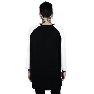 tričko pánské s 3/4 rukávem KILLSTAR - Memento Mori - BLACK, KILLSTAR