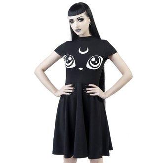 šaty dámské KILLSTAR - Meowgical - BLACK, KILLSTAR