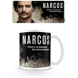 hrnek Narcos - There's no business like blow business - PYRAMID POSTERS, PYRAMID POSTERS