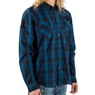 košile pánská LETHAL THREAT - RACING BLUE, LETHAL THREAT