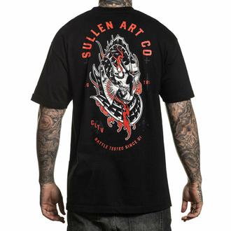 tričko pánské SULLEN - MIDEVIL - BLACK - SCM2583_BK