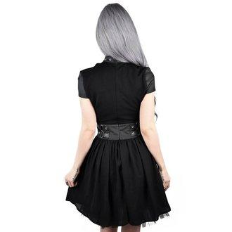 šaty dámské KILLSTAR - MIDNIGHT MUSE HARNESS - BLACK - K-DRS-F-3008