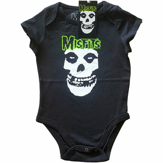 body dětské The Misfits - Skull & Logo - ROCK OFF, ROCK OFF, Misfits