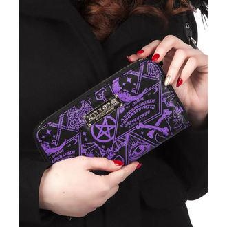peněženka KILLSTAR - MISS MORBID - BLACK, KILLSTAR