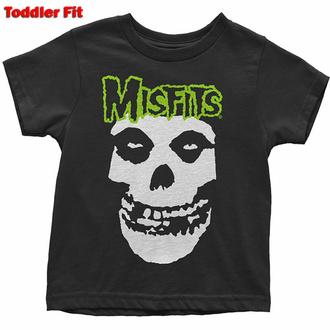 tričko dětské The Misfits - Skull & Logo - ROCK OFF, ROCK OFF, Misfits