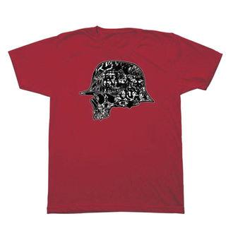 tričko pánské METAL MULISHA - CASE - RED, METAL MULISHA