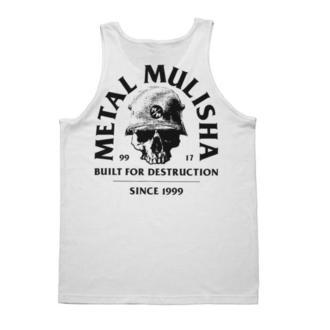 tílko pánské METAL MULISHA -  BUILT - WHT, METAL MULISHA
