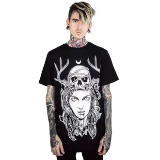 tričko pánské KILLSTAR - Moon Magic - BLACK, KILLSTAR