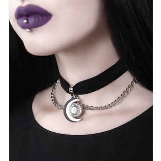 obojek KILLSTAR - Moonstone - BLACK, KILLSTAR