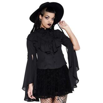 košile dámská KILLSTAR - Moon Shrine Ruffle, KILLSTAR