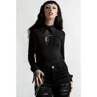 tričko dámské s dlouhým rukávem KILLSTAR - Morissa - Black, KILLSTAR