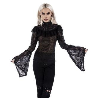 tričko dámské s dlouhým rukávem KILLSTAR - MORTE MISTRESS - BLACK, KILLSTAR