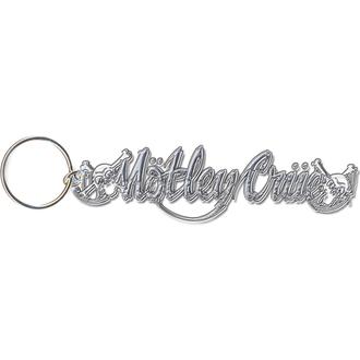 klíčenka - přívěšek Mötley Crüe (Skull Logo) - ROCK OFF, ROCK OFF, Mötley Crüe