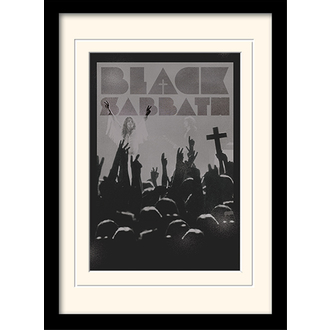 obraz Black Sabbath - (Cross) - PYRAMID POSTERS, PYRAMID POSTERS, Black Sabbath
