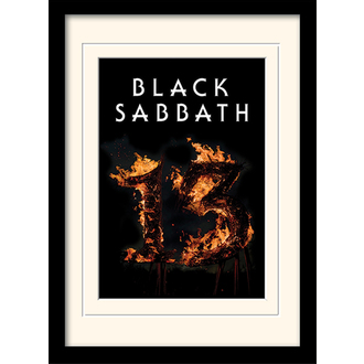 obraz Black Sabbath - (13) - PYRAMID POSTERS - MP10803P