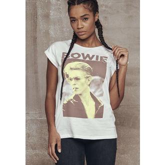 tričko dámské David Bowie - URBAN CLASSICS, URBAN CLASSICS, David Bowie