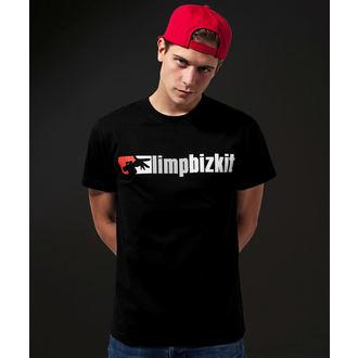 tričko pánské Limp Bizkit - Logo - URBAN CLASSICS, URBAN CLASSICS, Limp Bizkit