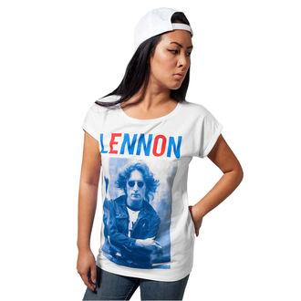tričko dámské Beatles - John Lennon - Bluered, NNM, John Lennon