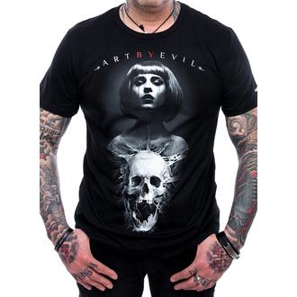 tričko pánské ART BY EVIL - Bullet, ART BY EVIL