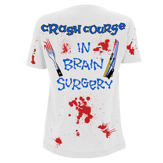 tričko pánské Metallica - Crash Course In Brain Surgery - White, Metallica